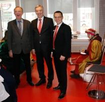 Auch unser Vorstandsvorsitzender Dr. Klaus-Jürgen Scherr war mit von der Partie